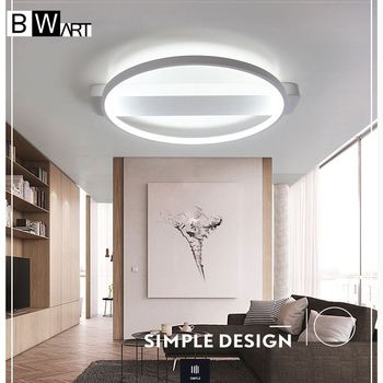 BWART Modern LED Ceiling Lights For Living Room Bedroom high brightness Indoor lighting Ceiling Lamp Remote control dimmable