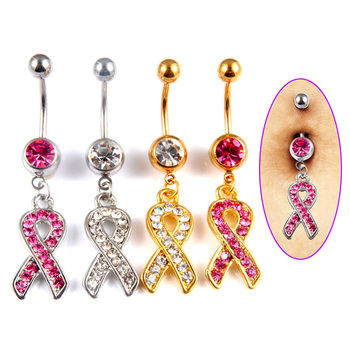 New Fashion Scarf Design Rhinestone Belly Ring Button Navel Bar Charm Body Piercing Barbell 88 KQS8