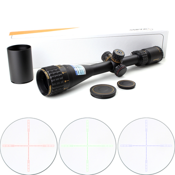 Taktik sniper nt 4.5-18x44 aogl avcılık riflescopes optik sight tam boyutu cam etched reticle rgb llluminate tüfek kapsam